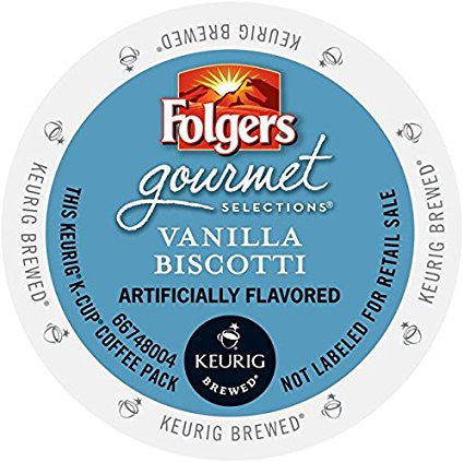 Folgers Gourmet Selections® Vanilla Biscotti [24 pack]