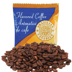 Brazilian Canadian Coffee Amaretto Almond [20 X 2.25 oz]