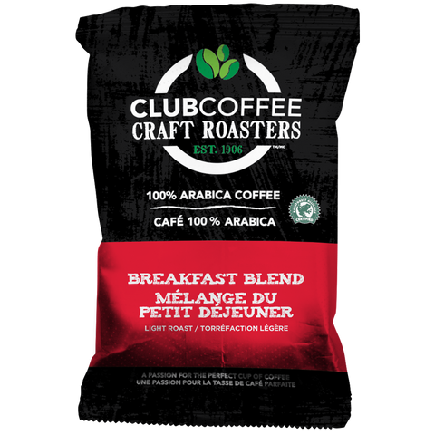 Club Coffee Breakfast Blend #47 [42 X 2.0 oz]