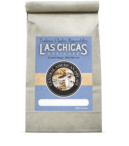 Las Chicas Central American Decaf Roast Beans [1lb]