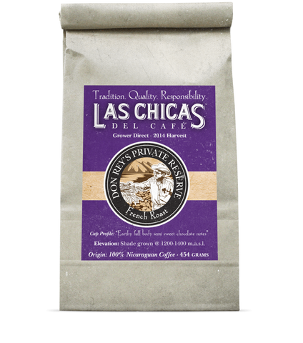 Las Chicas Don Rey's Private Reserve French Roast Beans [400g]