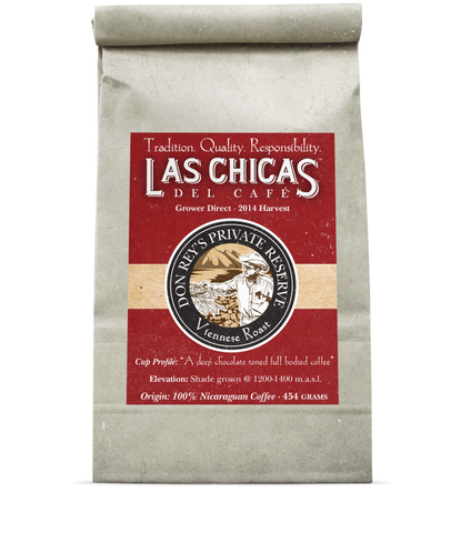 Las Chicas Don Rey's Private Reserve Vienesse Roast Beans [1lb]