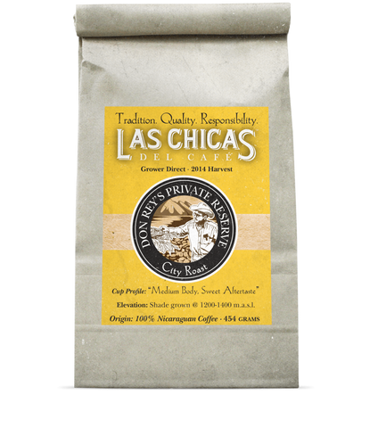 Las Chicas Don Rey's Private Reserve City Roast Beans [1lb]