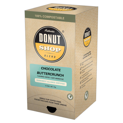Reunion Island Compostable Pods - Chocolate Butercrunch [16 pack]