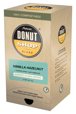 Reunion Island Compostable Pods - Vanilla Hazelnut [16 pack]
