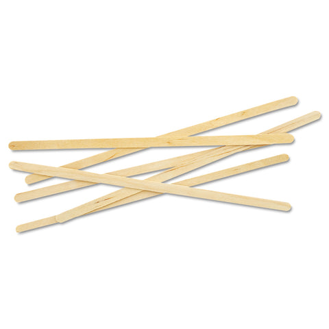 "Stir Stix 7"" Wooden [1000 pack]"