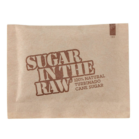Raw Sugar Packets [1000 pack]