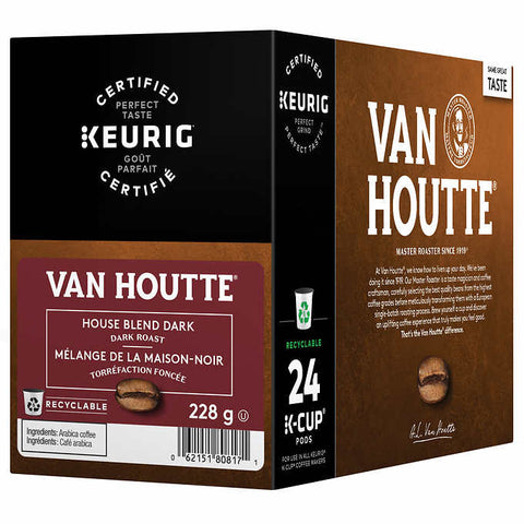 Van Houtte House Blend Dark [24 pack]