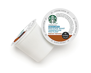 Starbucks® Decaf Pike Place® Roast Coffee [24 pack]