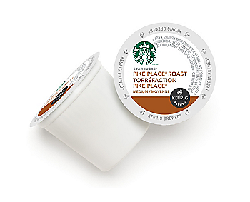 Starbucks® Pike Place® Roast Coffee [24 pack]