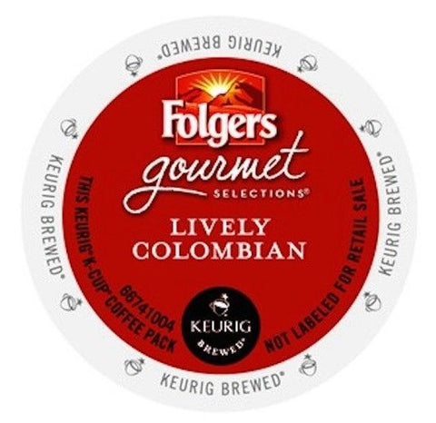 Folgers Gourmet Selections® Lively Colombian [24 pack]