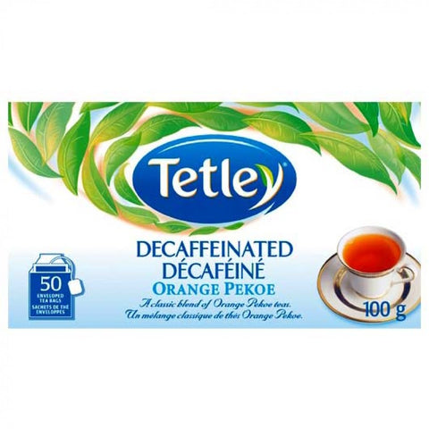 Tetley® Orange Pekoe Decaffeinated Tea [50 pack]