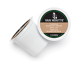 Van Houtte® Vanilla Hazelnut Decaf Coffee [24 pack]