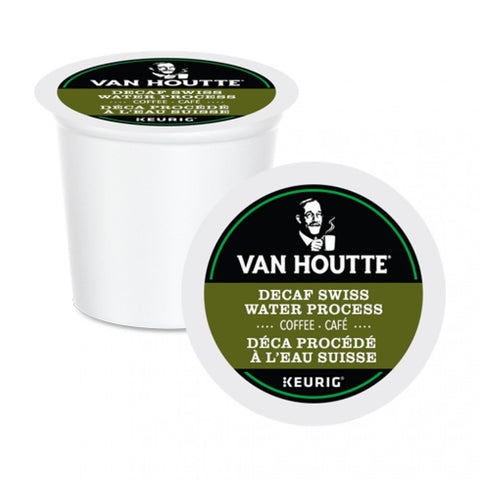Van Houtte® Swiss Water Decaf Fair Trade Organic Coffee [24 pack]