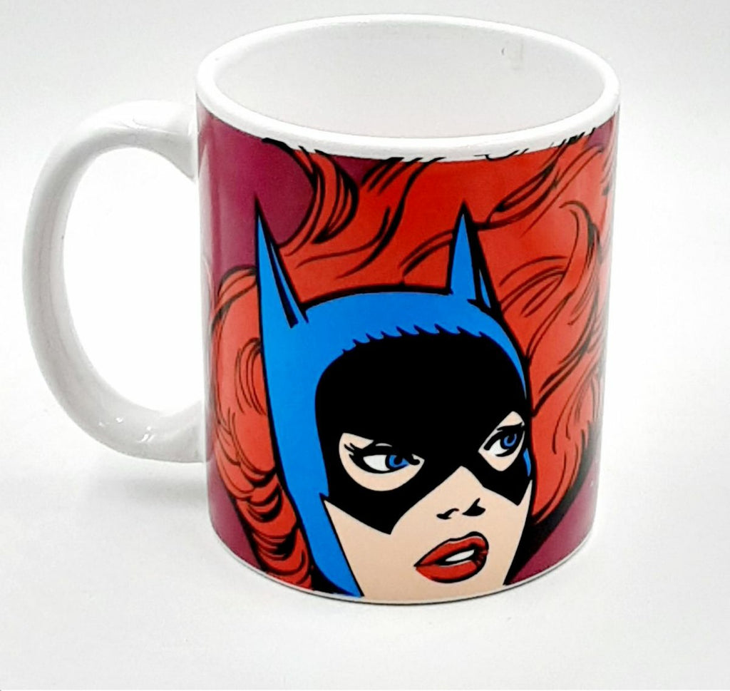Batgirl DC comics batman ceramic mug