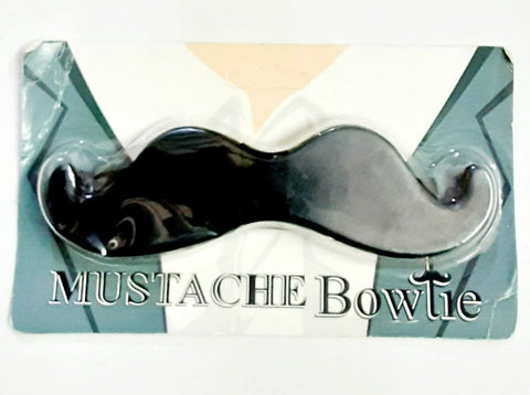 2 Pack Mustache Bowtie - Shaped Like A Mustache