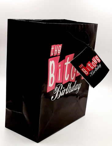 2 Pack kalan the b*tchs birthday gift bag