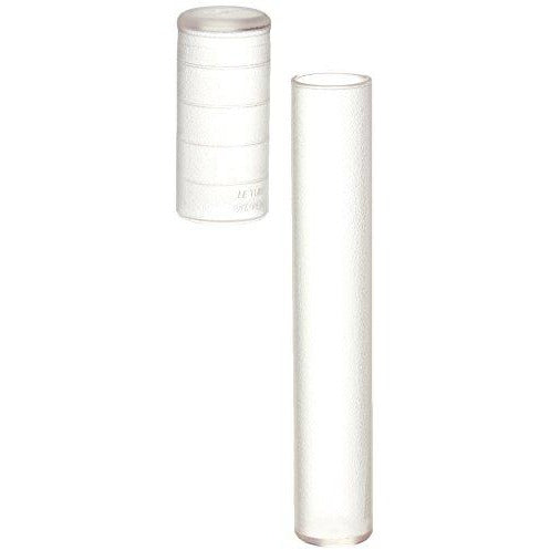 4x Clear Telescoping Airtight Travel Tubes Humidor for Cigars