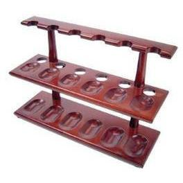 F.E.S.S. Beautiful 12 Tobacco Pipe Stand 2 Level Pipe Holder Pipe Furniture, , m4wholesale.com, FESSONLINE