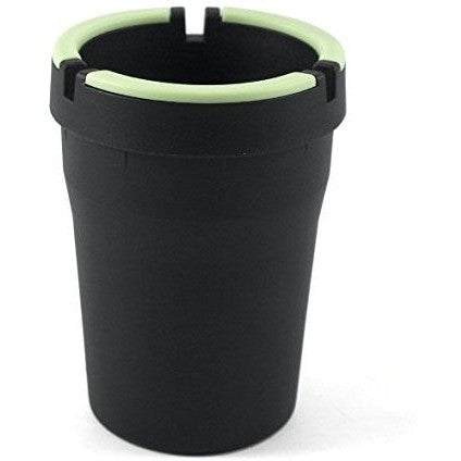 Stub Out Glow in the Dark Cup-Style Self-Extinguishing Cigarette Ashtray - Black, , FESSONLINE, FESSONLINE