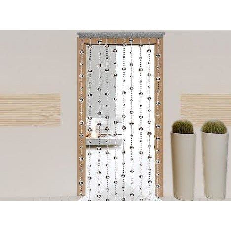 Beaded Curtains - Mirror Disco Ball Door Beads #61060, , fessonline, FESSONLINE