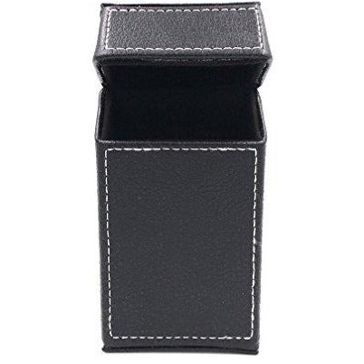 F.e.s.s. Black Stiched PU Cigarette Pack box Holder - For 100mm Cigarettes, , fessonline, FESSONLINE