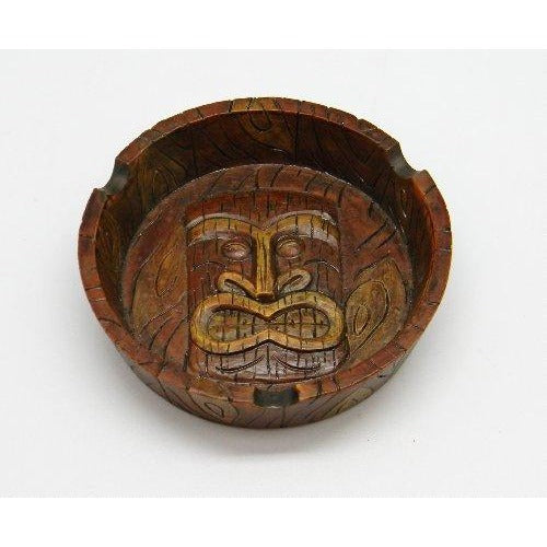 4.25 Tiki Mask Ashtray, , fessonline, FESSONLINE