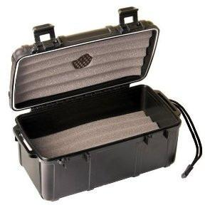 Fess F15 Black Travel Cigar Humidor Waterproof Holder Case for up to 10-15 Cigars, , m4wholesale.com, FESSONLINE