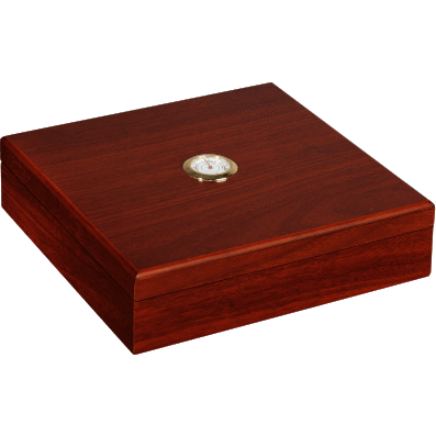 Cherry Humidor With Hygrometer 20 Count, , m4wholesale.com, FESSONLINE
