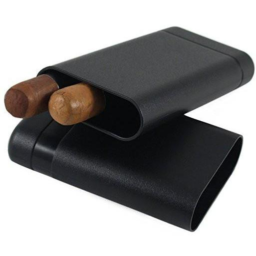 Le Tube 3 Finger Crushproof Airtight Cigar Case Travel Humidor, , fessonline, FESSONLINE