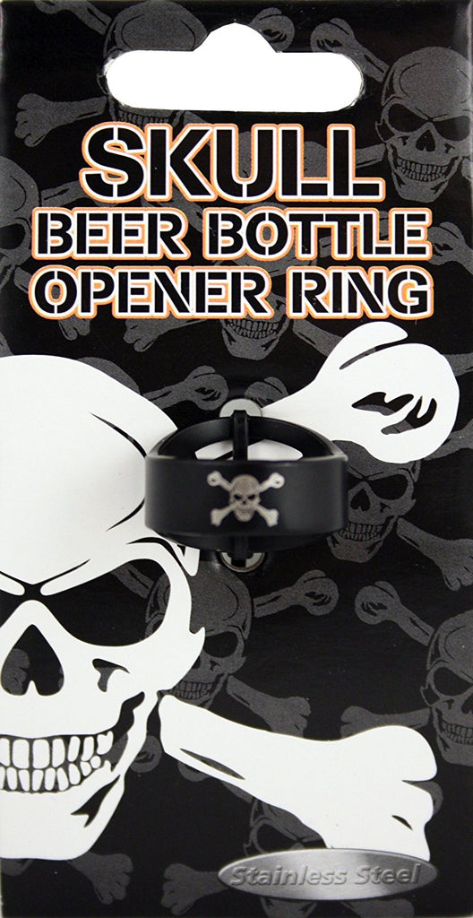 Island Dogs Skull Bottle Opener Ring, , FESSONLINE, FESSONLINE