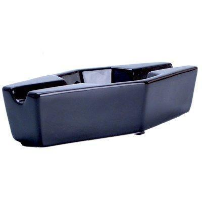 "FESS 9"" Ceramic Double Cigar Ashtray, , m4wholesale.com, FESSONLINE"