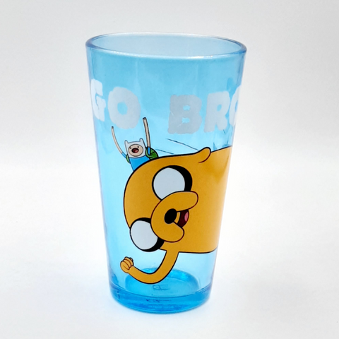 Adventure Time Go Bros Pint Glass