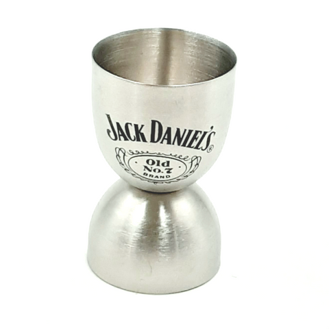 Jack Daniels stainless steel round Double Jigger