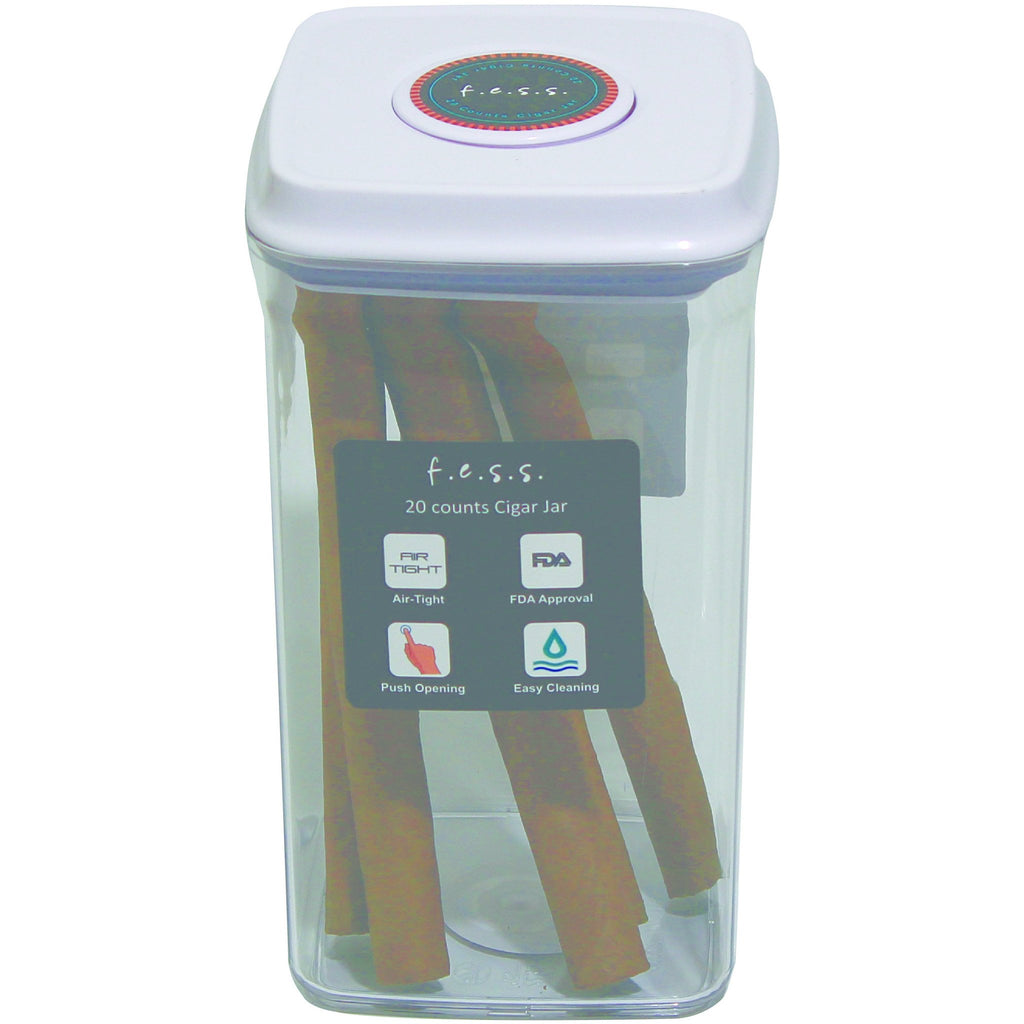 Original Plastic Airtight Sealed Locking Humidor Container, , fessonline, FESSONLINE