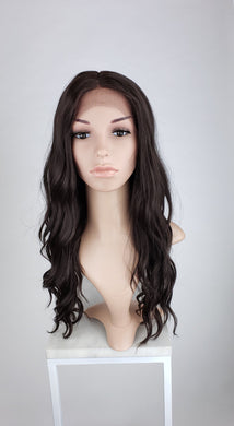 Pose Wigs Dark Brown Long Wavy Lace Front Wig - Duchess Series LDCHA10