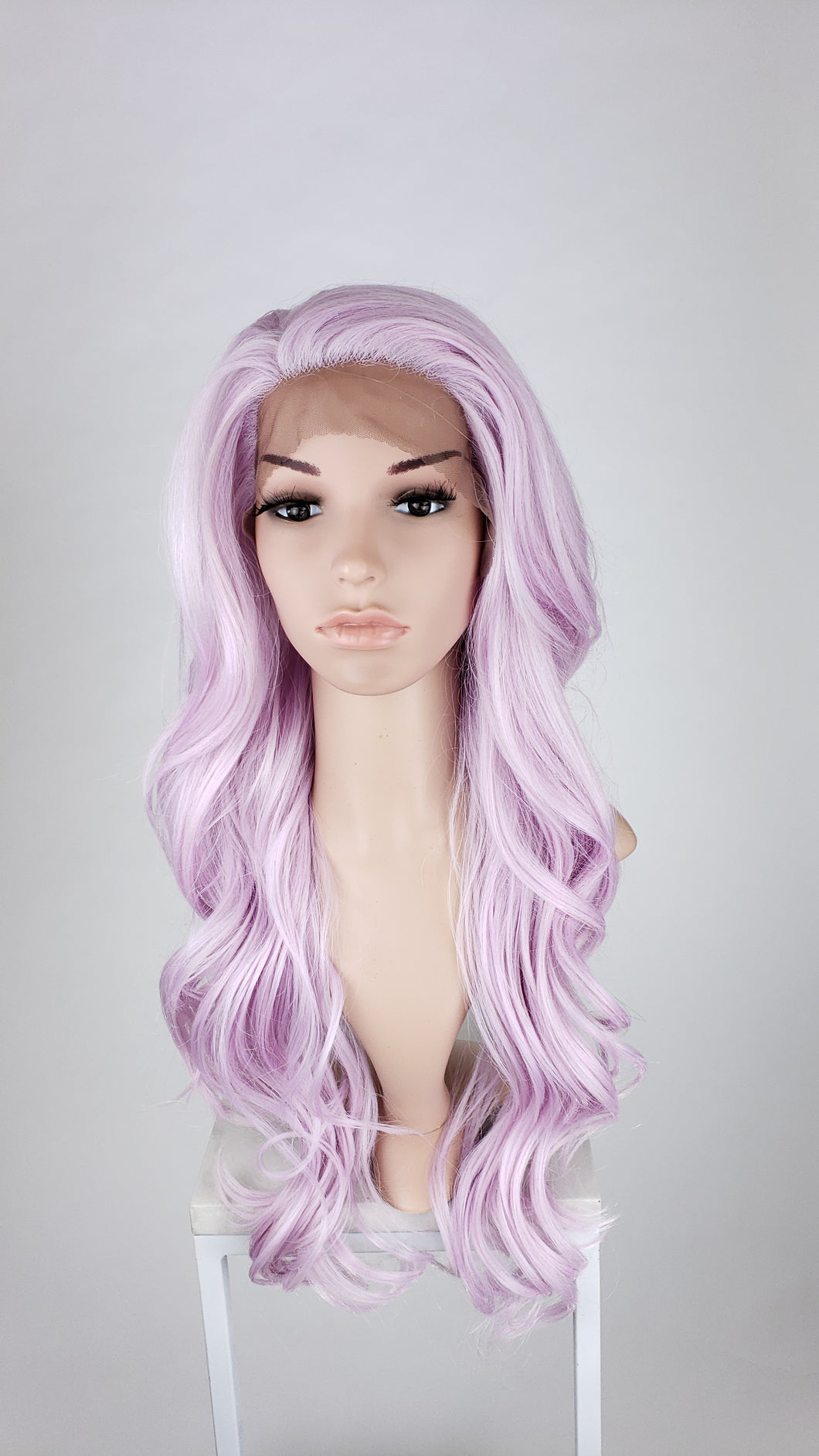 Pose Wigs Lilac Purple Long Wavy Lace Front Wig - Duchess Series LDKIM168