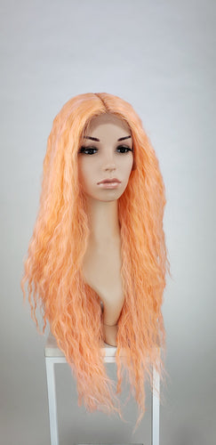 Pose Wigs Coral Mix Long Curly Lace Front Wig - Duchess Series LDRVN97