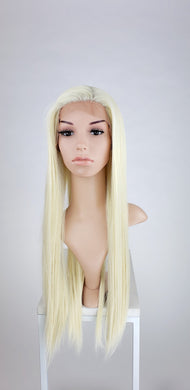 Pose Wigs Blonde Long Straight Lace Front Wig - Special Full Lace Top Princess Series LPBEL44