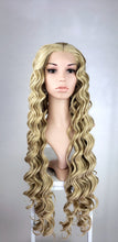Strawberry Blonde Long Curly Lace Front Wig  - Princess Series LPMIA67
