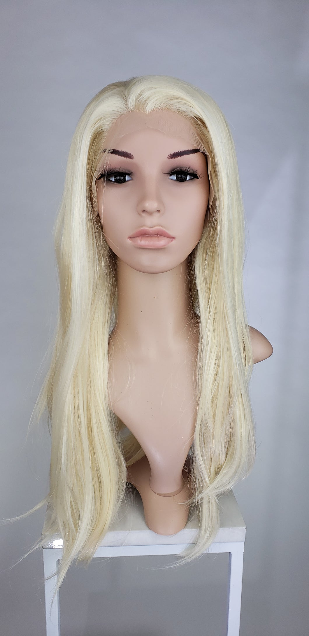 Pose WIgs Blonde Long Straight Lace Front Wig - Princess Series LPSKY44