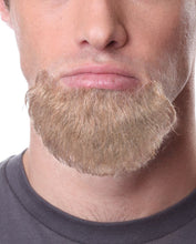 Pose Wigs Blonde Beard 100% Human Hair on Lace Backing BEARD942Blonde