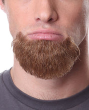 Pose Wigs Brown Beard 100% Human Hair on Lace Backing BEARD942Brown