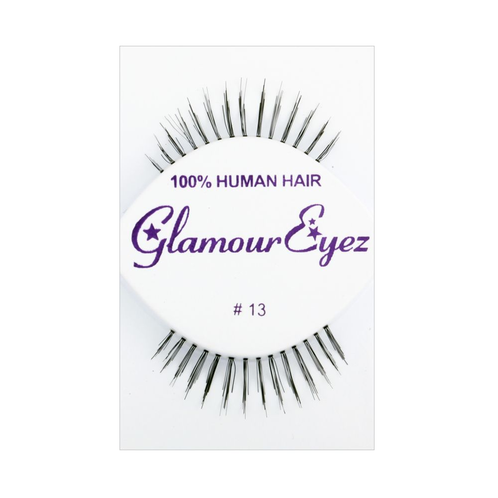 False Eyelashes / Made with 100% human hair / EYELASH13