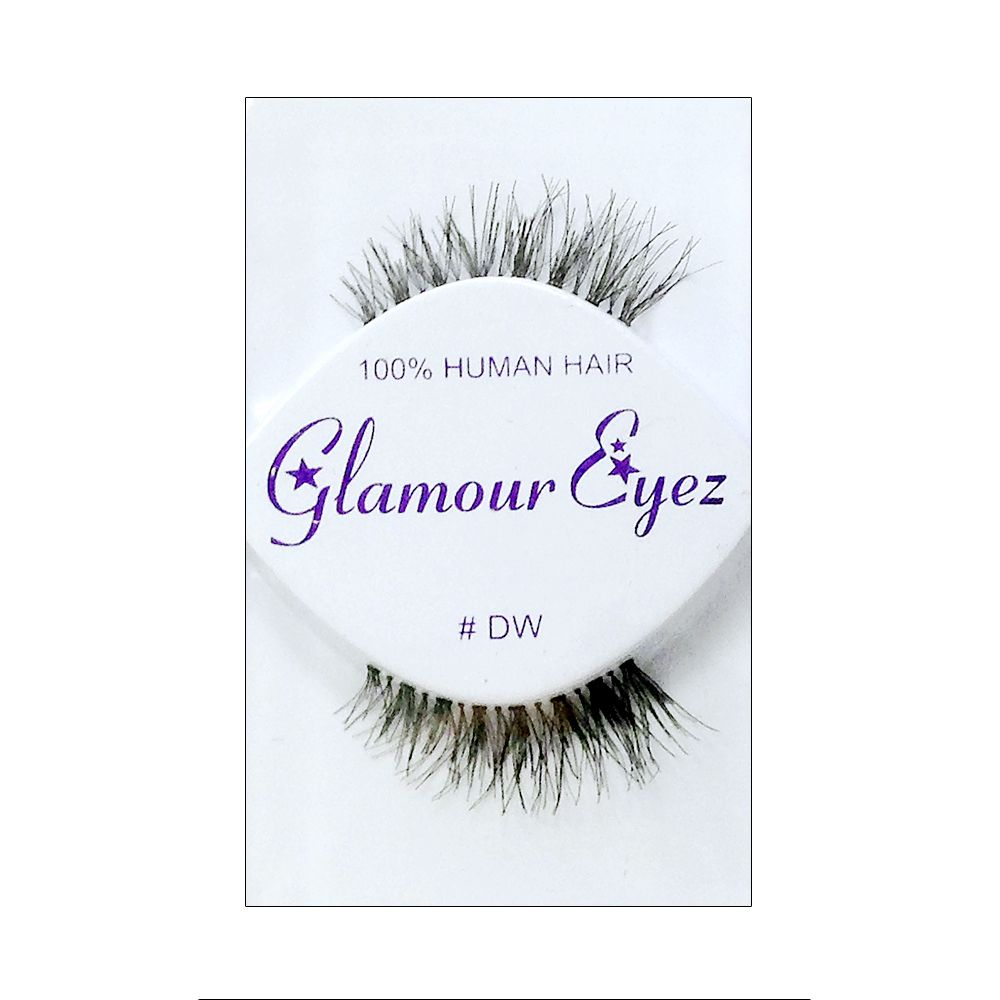 False Eyelashes / Made with 100% human hair / EYELASHDW
