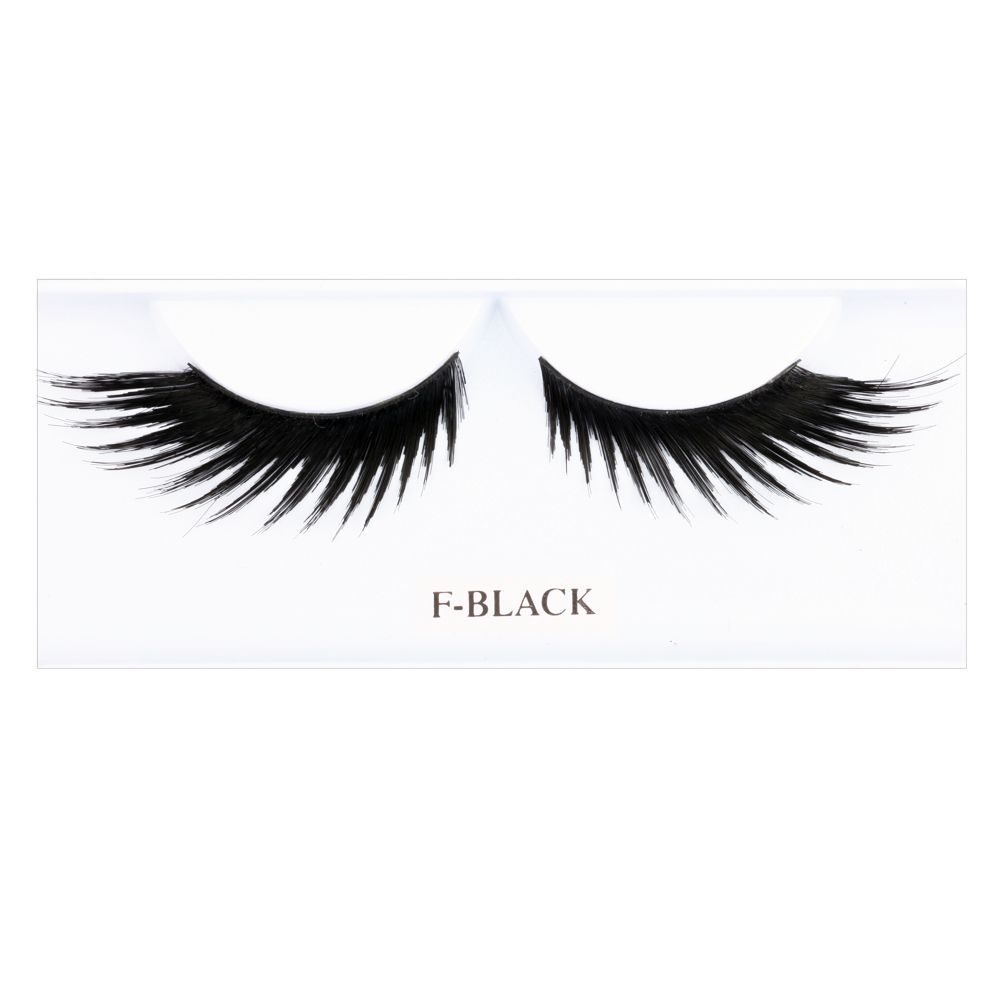 False Eyelashes / Made with 100% human hair / EYELFBLK