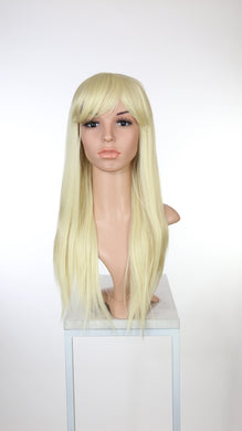 Blonde Long Straight with Bangs Fashion Wig HSOAS44