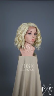 Blonde Short Curly Bob Lace Front Wig - Lady Series LLPEA44