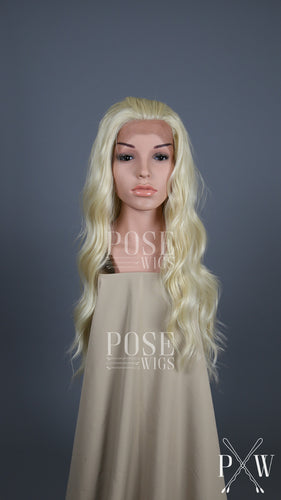 Pose Wigs Blonde Long Wavy Lace Front Wig - Duchess Series LDYVO44