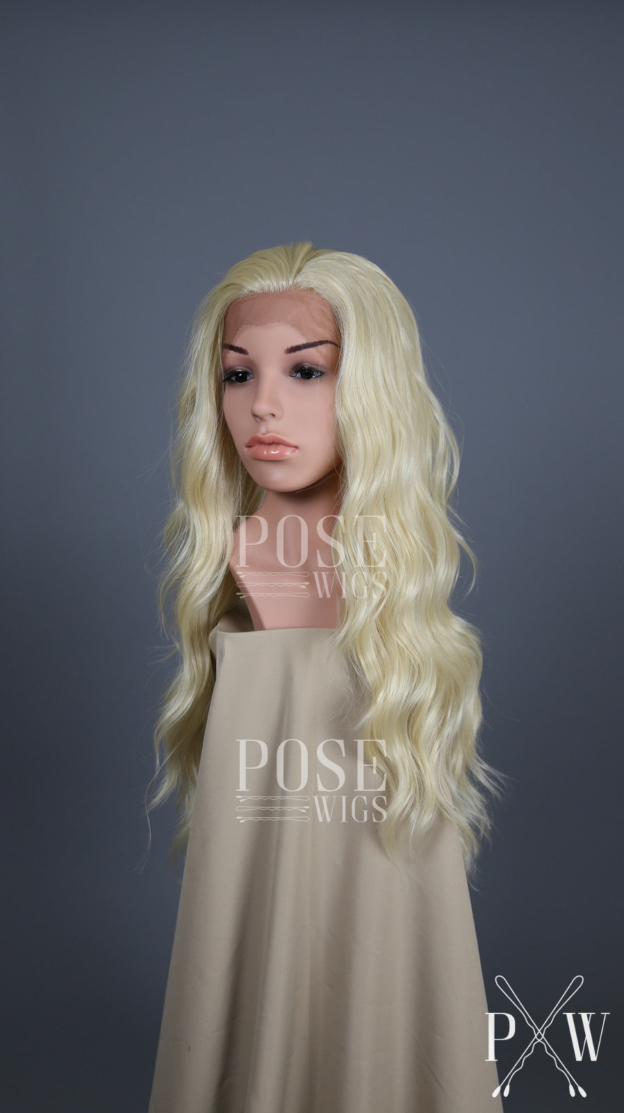 Blonde Long Wavy Lace Front Wig - Lady Series LLYVO44